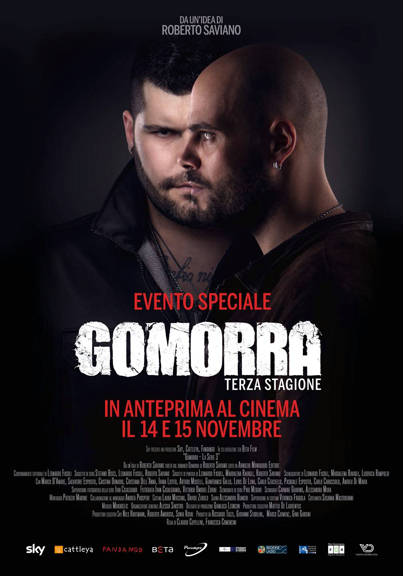 Poster Gomorra 3 al cinema