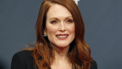 Photo of Franca Sozzani Award: Colin Firth premia un'emozionata Julianne Moore