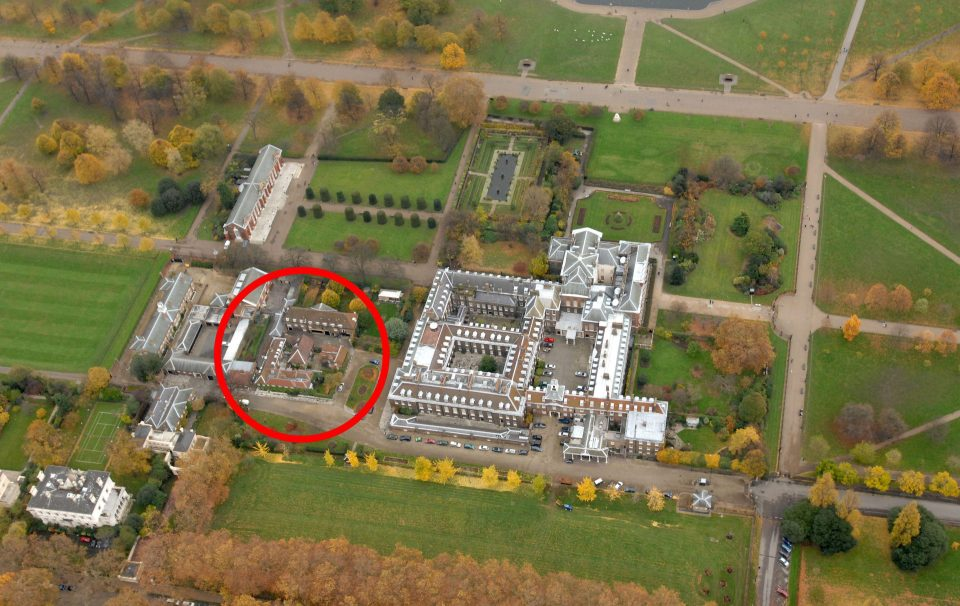 Principe harry e meghan markle presto sposi i dettagli for Interno kensington palace