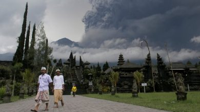 Photo of Vulcano Bali, ultime notizie Agung:'100.000 sfollati'