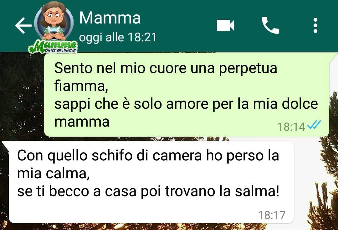 mamme che scrivono su whatsapp messaggi