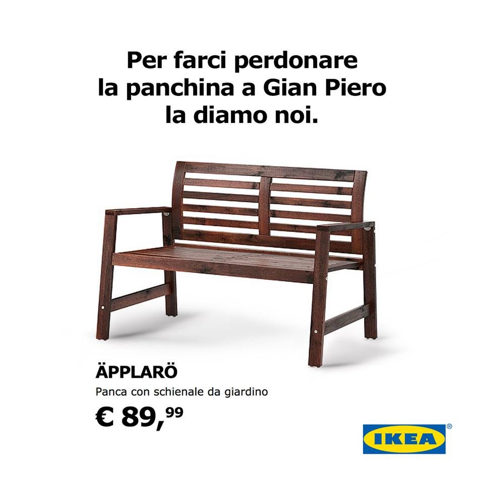 panchina ikea