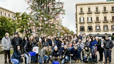 Photo of Palermo: Il comico, i bambini e l'albero tanto discusso