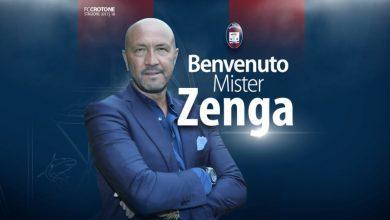 Photo of Walter Zenga nuovo allenatore del Crotone: è ufficiale