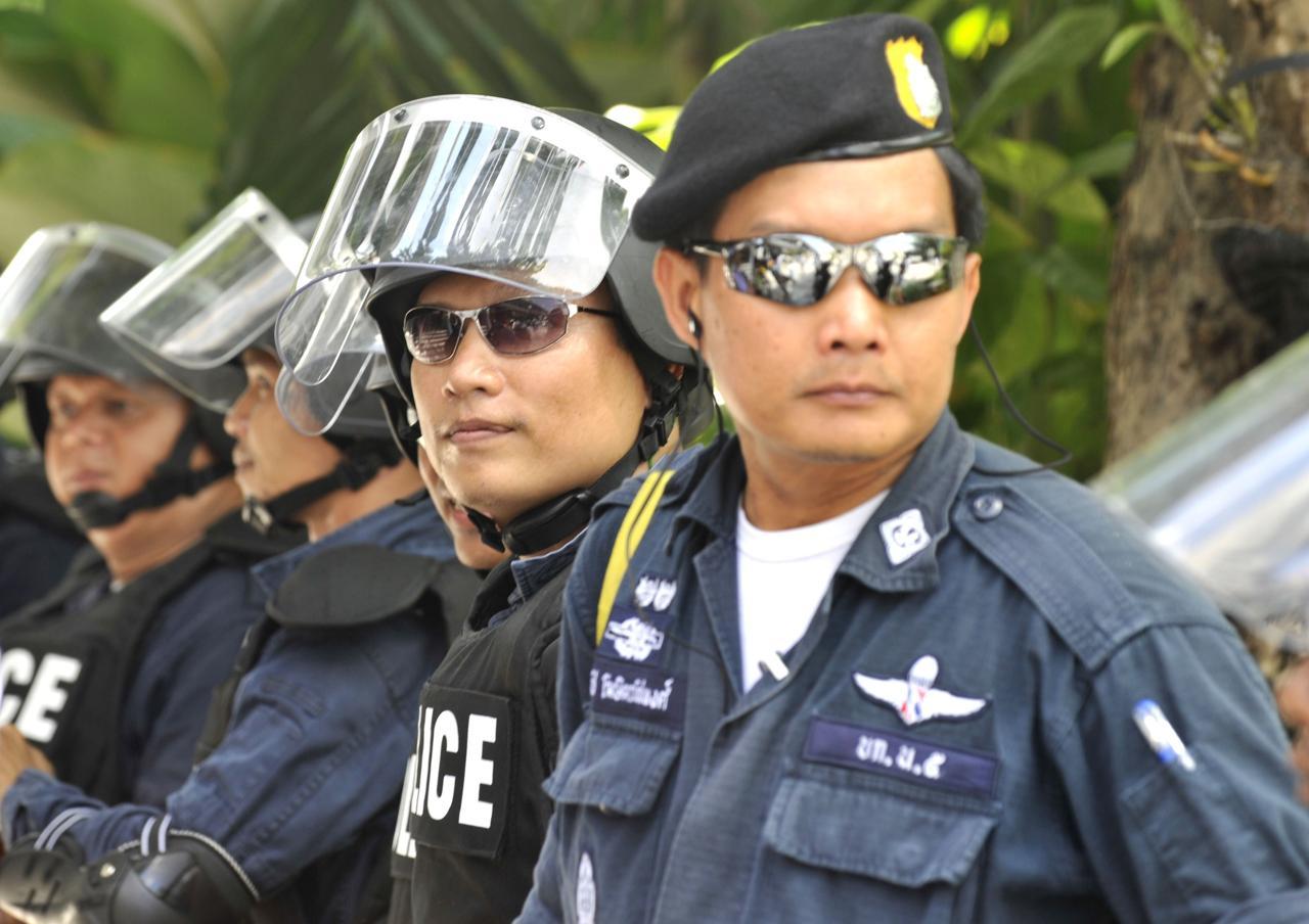Thailandia polizia