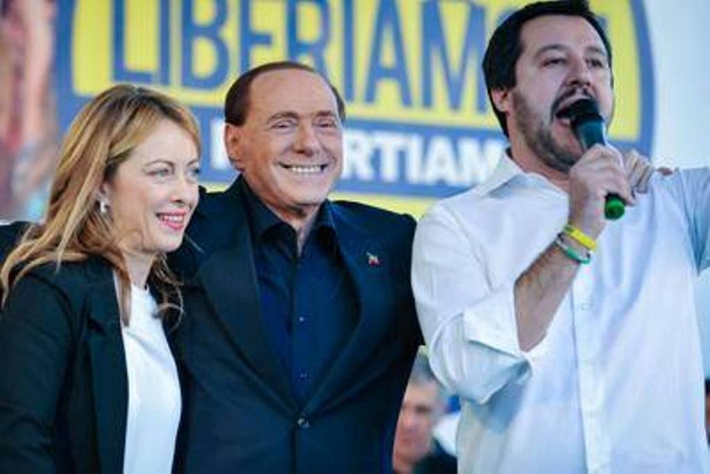 Berlusconi-Salvini-Meloni