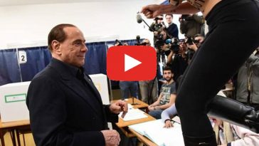 Berlusconi contestato