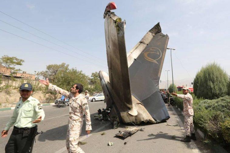Aereo Privato Iran : Schianto di un aereo sulle montagne dell iran morti
