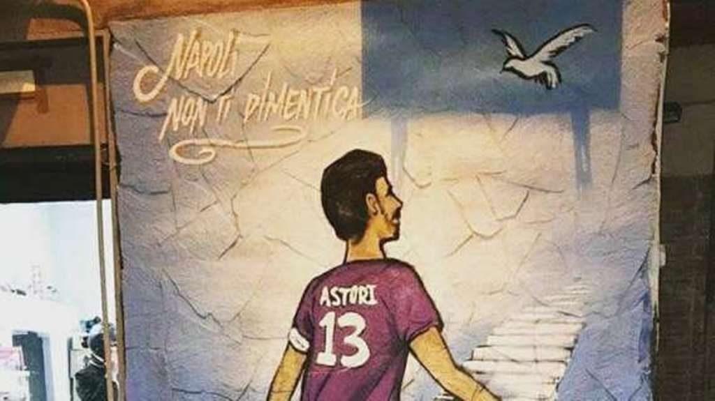 Murales Astori Napoli