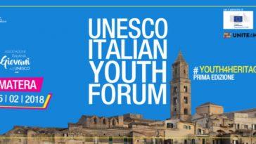 Unesco Italian Youth Forum Matera