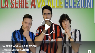 Photo of Parodia Autogol, Elezioni Serie A (Video)