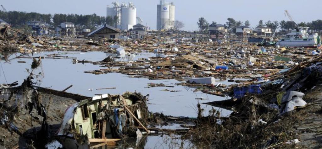 Disastro di fukushima oggi una commemorazione - Foto della bandiera del giappone ...