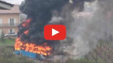 incendio Pratola Serra