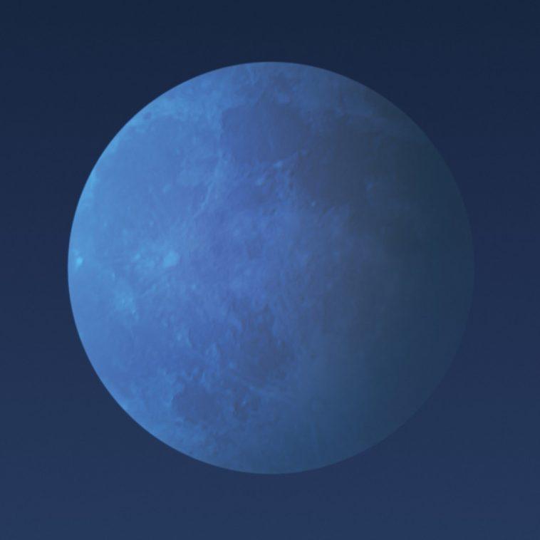 Notte di Pasqua in compagnia della \'\'luna blu\'\'