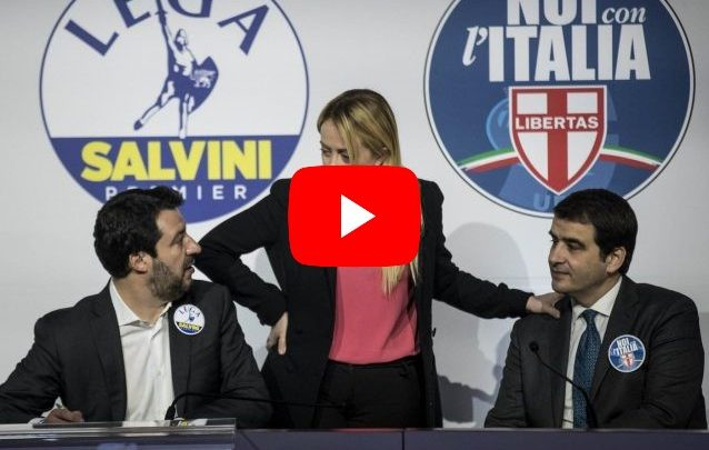 salvini meloni fitto video
