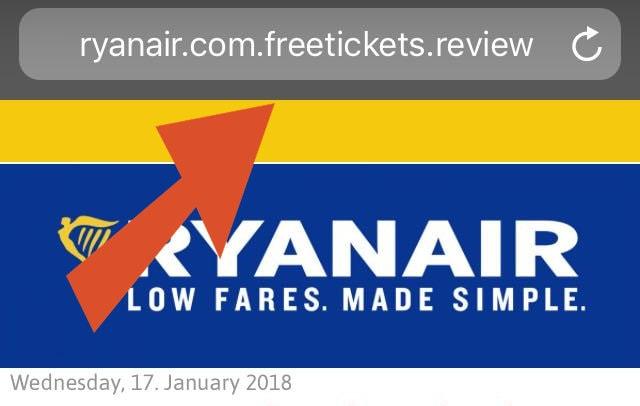 truffa-due-biglietti-gratis-ryanair-sito-phishing-min
