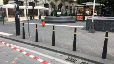 Photo of Napoli, valigia sospetta in Piazza Borsa: Allarme Bomba