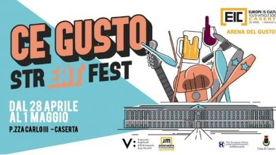 Photo of CE Gusto Streat Fest Caserta 2018: Date e Programma