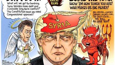 Donald Trump Siria