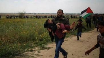 La marcia del ritorno-Palestina