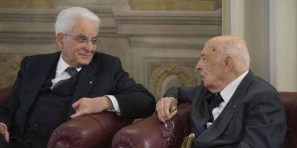 Mattarella-Napolitano