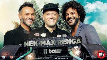 Nek Max Renga Tour