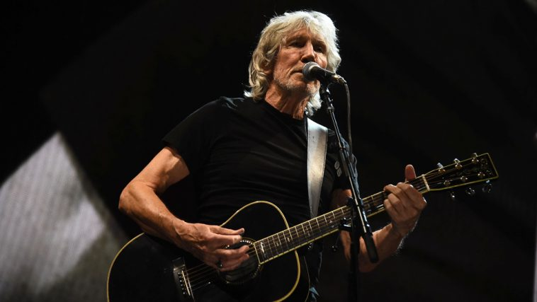 Maiale bianco per Roger Waters a Milano