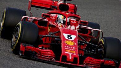 Photo of Sebastian Vettel vince il GP del Bahrain 2018