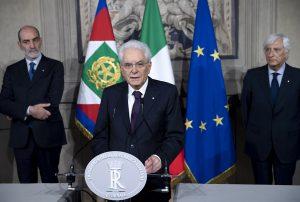 Sergio Mattarella 28 maggio 2018