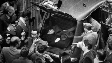 cadavere di Aldo Moro via Caetani Roma 9 maggio 1978