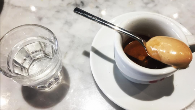 caffè con cremina