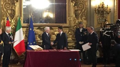 Photo of Giuramento Governo Conte al Quirinale (Foto)