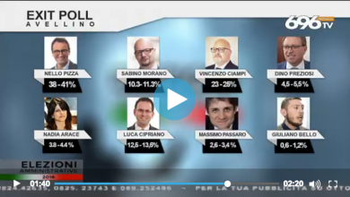exit poll – Avellino
