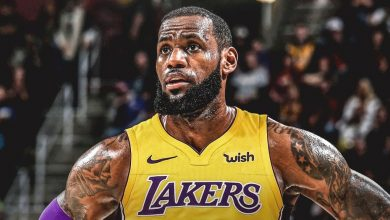 LeBron James fisico