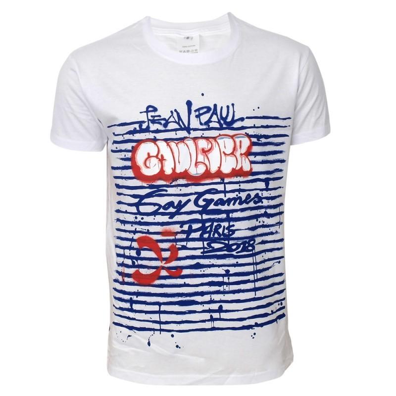 Jean-Paul Gaultier Paris Gay Games 2018 t-shirt