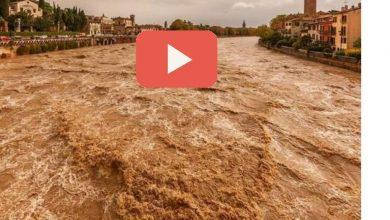 Photo of Fiume Adige in piena Oggi: Rischio esondazioni (Video)