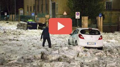 Photo of Maltempo a Roma oggi: Strade allagate (Video)