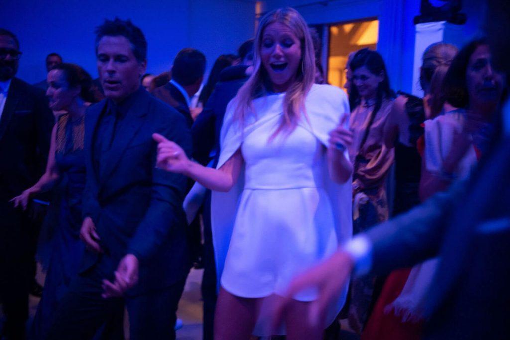 Gwyneth Paltrow matrimonio cambio d'abito