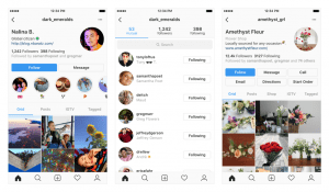 Instagram cambia il layout dei profili delle persone