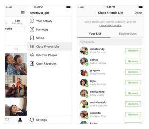 """Instagram – nuova funzione per condividere le Storie solo con la lista """"Amici più stretti"""" (2)"""