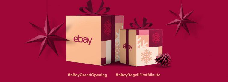 eBay – buono sconto del 10% con il codice PREGALI18 fino al 12 novembre 2018