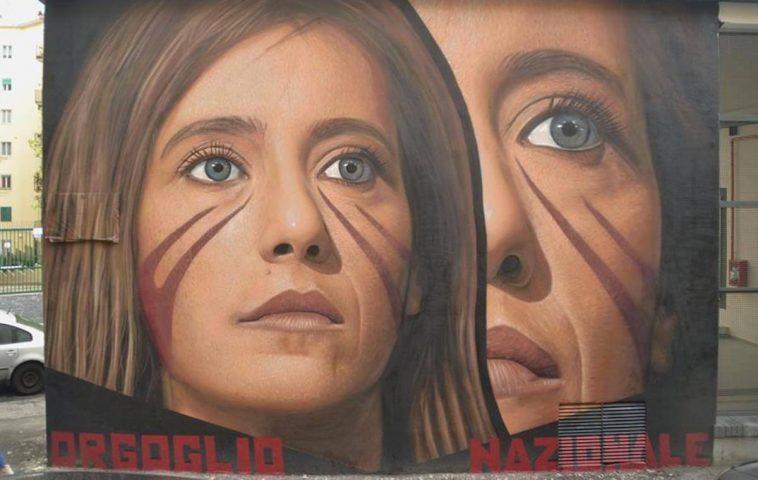 ilaria cucchi murale