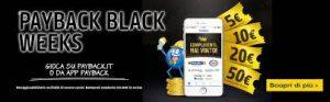 """MONDADORI – vinci 46.600 premi con """"PAYBACK Black Weeks"""""""