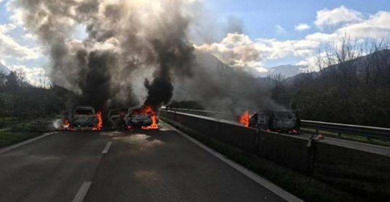 Rapina portavalori Avellino-Salerno