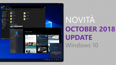 "Windows 10 ""October 2018 Update"" è ora disponibile per tutti gli utenti su Windows Update"
