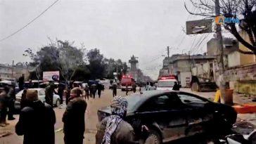 attentato ristorante siria