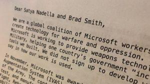 Microsoft – dipendenti impongono alla compagnia di bloccare la fornitura di HoloLens con il Pentagono (1)