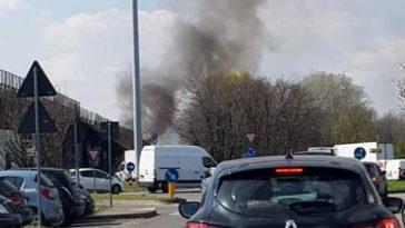 incendio autobus Paullese
