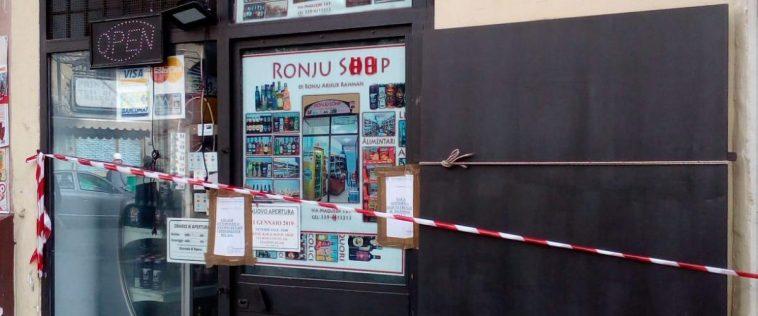 rapina supermercato Palermo
