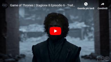 Photo of Trono di Spade, Ultima Puntata: Trailer e Anticipazioni della 8×06